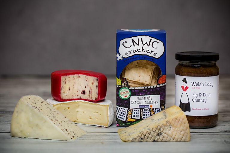 Cheese and Accompaniments Christmas Gift Box