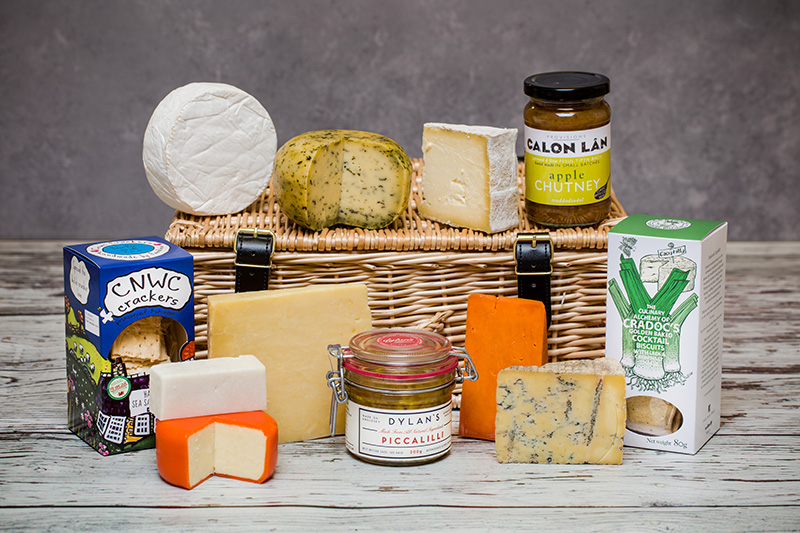 Luxury Welsh Cheese Christmas Hamper