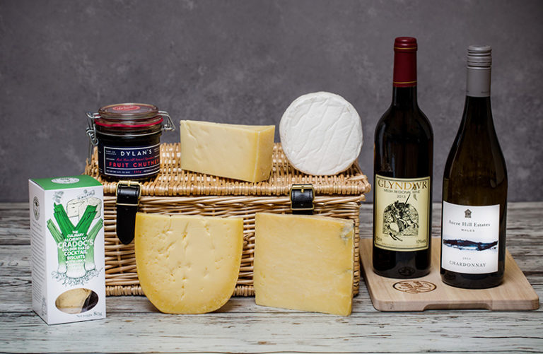 Welsh Wine and Cheese Connoisseur's Hamper
