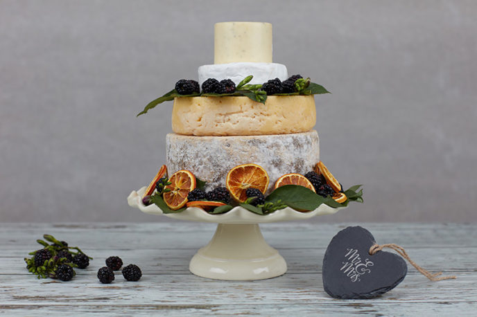 Caldicot Cheese Wedding Cake