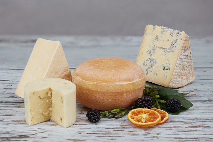 Caldicot Cheese Wedding Cake Taster Box