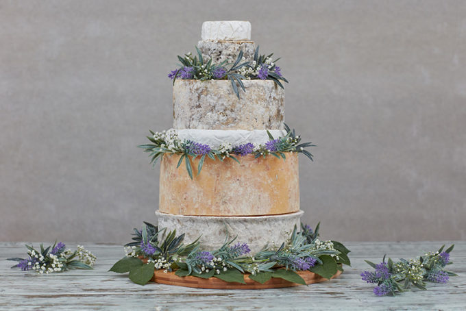 Conwy Cheese Wedding Cake