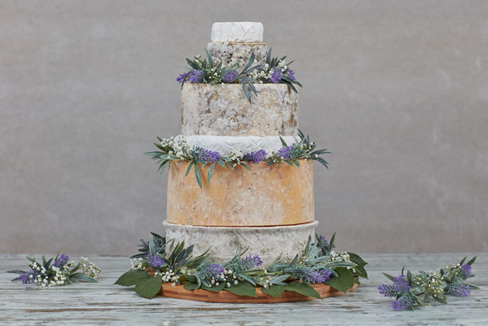 wedding cakes makers south wales conwy cheese wedding cake the cheese company 24970