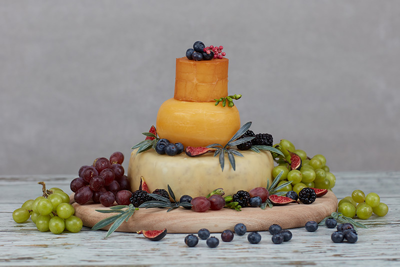 Pembroke Cheese Celebration Cake The Welsh Cheese Company
