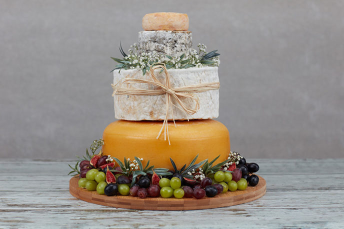 Powis Cheese Wedding Cake The Welsh Cheese Company