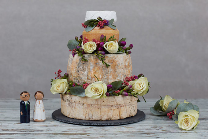 Raglan Cheese Wedding Cake