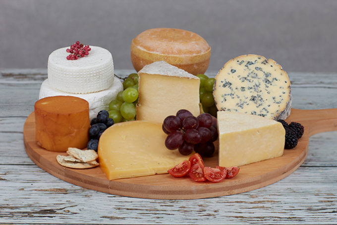 Large Welsh Cheeseboard Selection