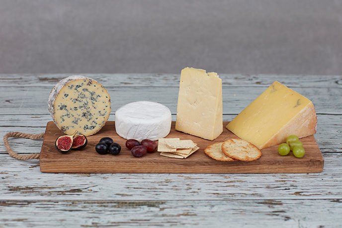 Small Welsh Cheeseboard Selection