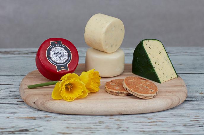 St David's Day Cheese Box