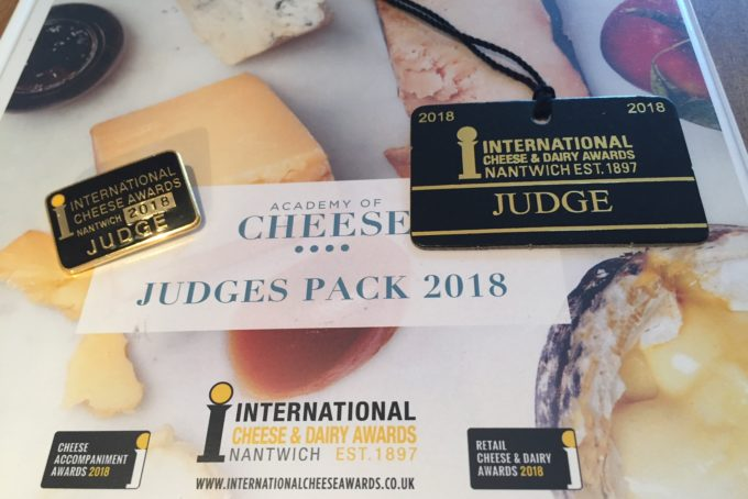 My day at the International Cheese Awards