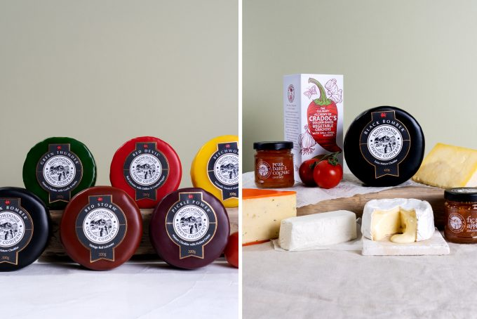 New Snowdonia and Vegetarian Gift Boxes